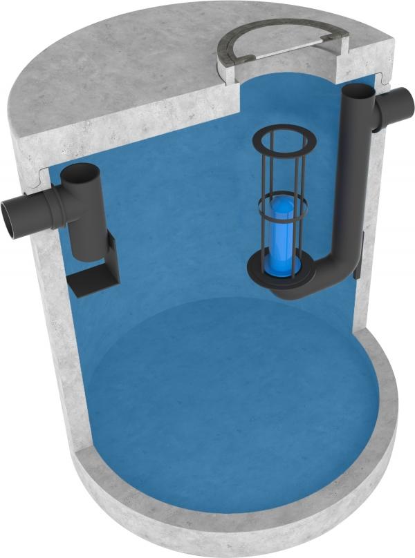 Olieafscheider fabricaat Aqua Milieu Techniek New Class A