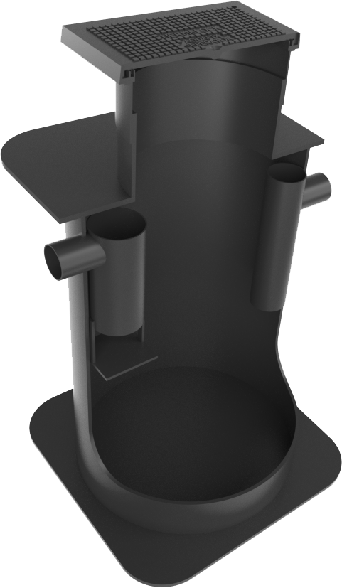 vetafscheider PE verkeersklasse B 125 kN AMT