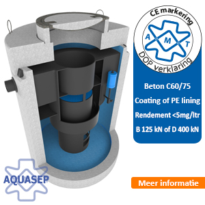 lamellenafcheider Aqua MilieuTechniek