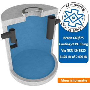 vetafscheider beton C60/75 AMT