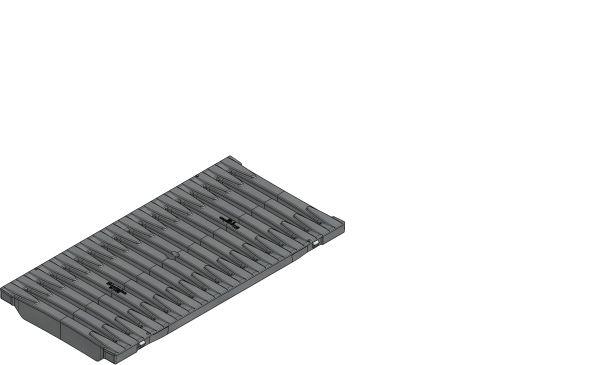 Firetec Design Stavenrooster B125 B=200 L=500 AMT