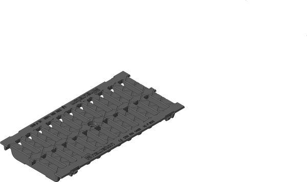 Gietijzeren sleuvenrooster F900 B=200 L=500 AMT