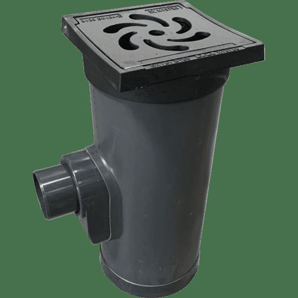 Straatkolk PVC/Gietijzer WADI-Waaier motief