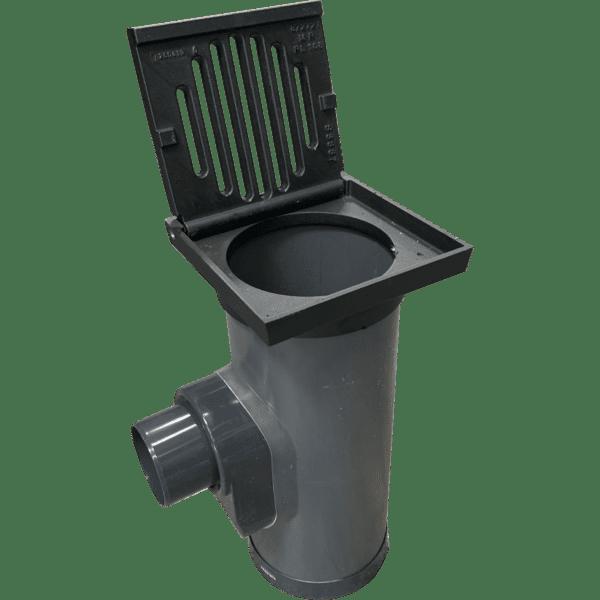 Tegelpad kolk PVC/Gietijzer