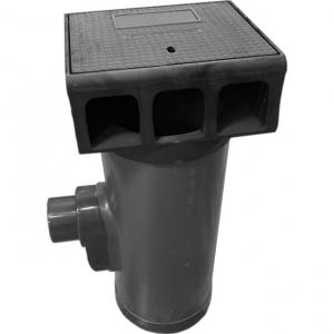 Trottoirkolk PVC/Gietijzer