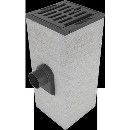 Straatkolk-beton 380x380x900 mm beton AMT