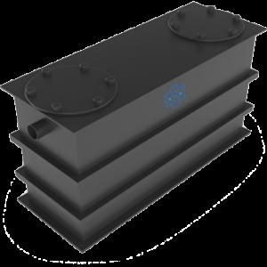 Vetafscheider bovengronds model HDPE AMT