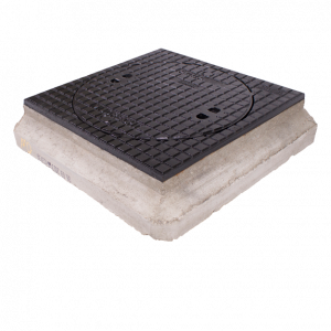 Putdeksel D400 AMT beton-gietijzer H=170